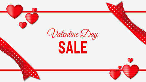 Valentine Day Sale After Effects Template