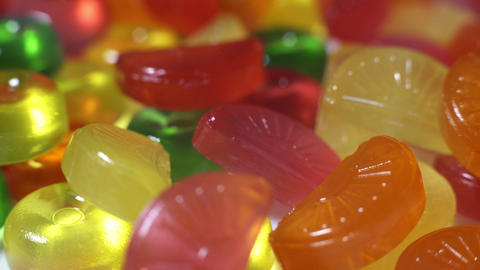 Colored Candy Stock Video Footage