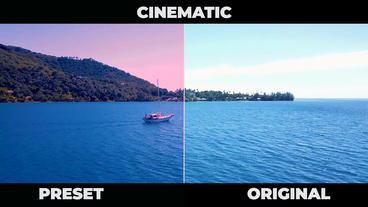 Cinematic Color Presets Premiere Pro Template