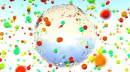 color glass spheres Fotografía