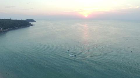Great Naga in Karon beach Live Action