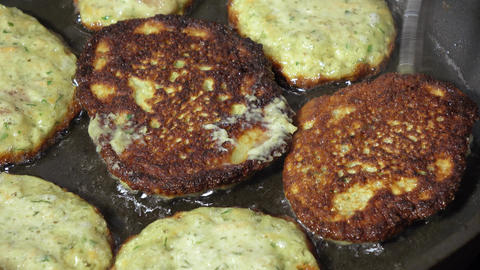 Fry cutlet from caviar Live Action
