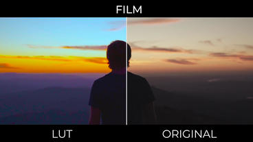 Film Look LUTs Presets v 2 Premiere Pro Template