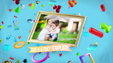 Fancy Opener After Effects Template