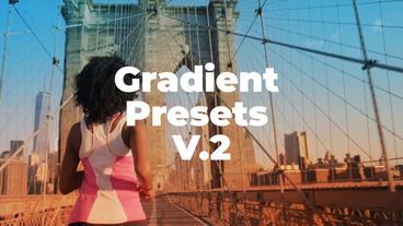 Gradient Presets V 2 Premiere Pro Template