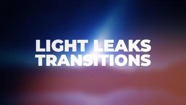 Light Leaks Transitions Presets Premiere Proテンプレート
