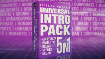 Universal Intro Pack Premiere Pro Template