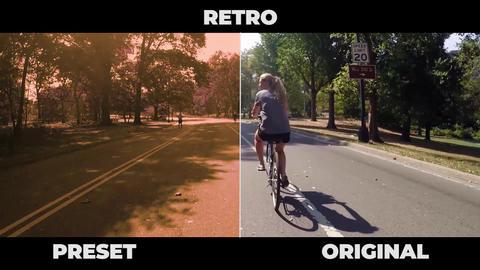 Retro Presets Premiere Pro Template