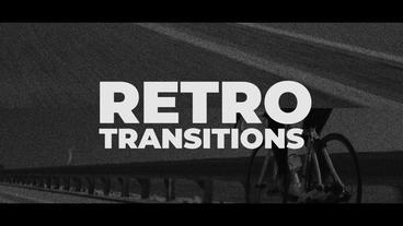 Retro Transitions Presets Premiere Pro Template