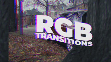 RGB Transitions Presets Premiere Pro Template