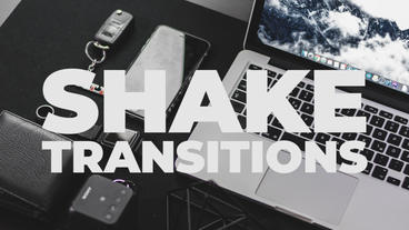 Shake Transitions Presets Premiere Pro Template
