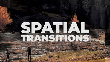Spatial Transitions Presets Premiere Proテンプレート