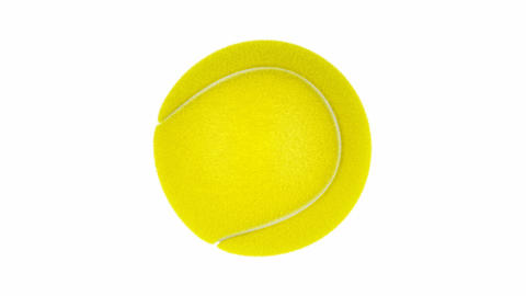 Tennis ball CG動画素材