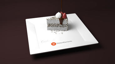 Cake and Coffee After Effects Template