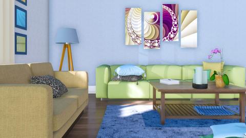 Modern minimalist living room interior at daytime Footage