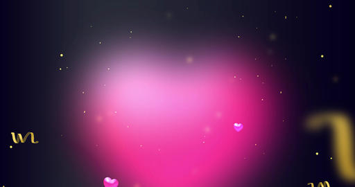 motion background loop. Valentine's Day, Mother's Day, wedding anniversary GIF