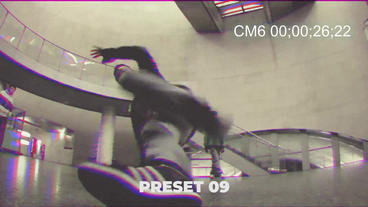 VHS Effect Presets Premiere Pro Template