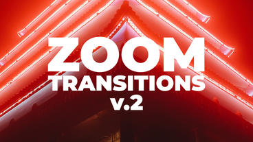 Zoom Transitions Presets V 2 Premiere Pro Template