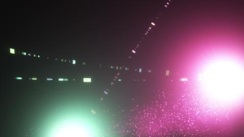 Crossing light effects _ green _ magenta Animation