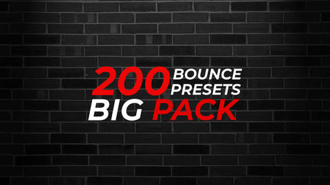 New Text Animations Presets Pack