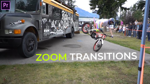 Zoom Transitions Presets Premiere Pro Effect Preset