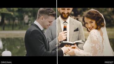 Wedding Color Presets Premiere Pro Effect Preset