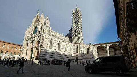 Siena Cathedral in 4k ビデオ