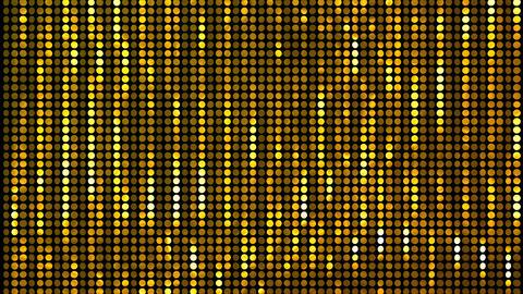Glitter Back circle line Gold 4k GIF