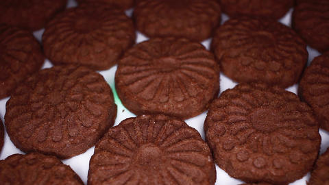 Chocolate biscuit brown chocolate biscuits cacao food closeup texture pattern Live Action