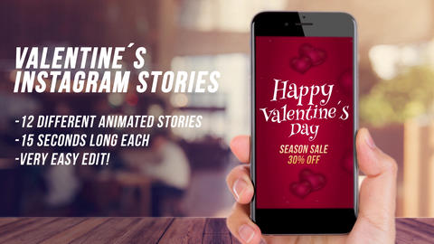 Love Instagram Stories -Valentine After Effects Template