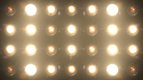 Floodlight Lights Flashing Wall VJ Stage 4K Blinking Lights Flash Flashlights Disco Lights Animation Animation
