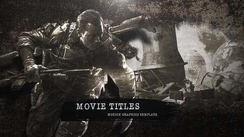 Movie Titles After Effects Template