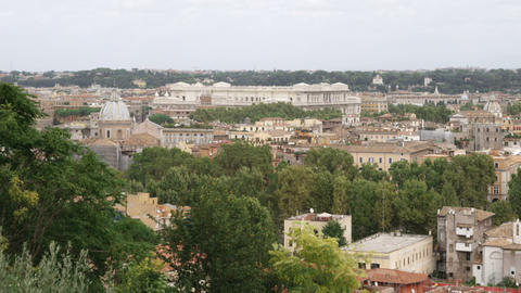 Cityscape of Rome Italy Footage