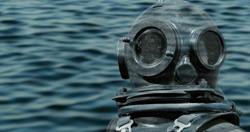 deep sea diver Footage
