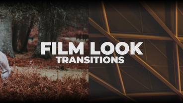 Film Look Transitions Premiere Proテンプレート