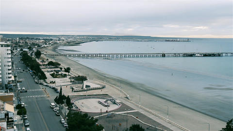 Puerto Madryn, In The Argentine Patagonia 영상물