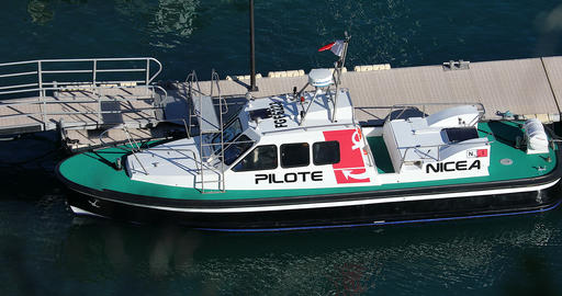 Pilot Boat In The Port Of Nice GIF