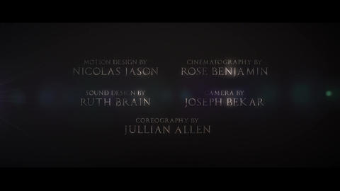 Cine Credit V 1 After Effects Template