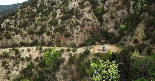 Mountain biking in the Finale Ligure Live Action
