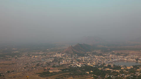 Pushkar Landscape stock footage