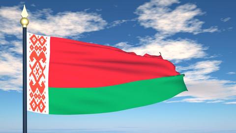 Flag Of Belarus Animation