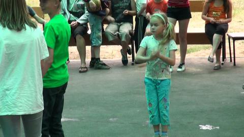Children's disco Stock Video Footage