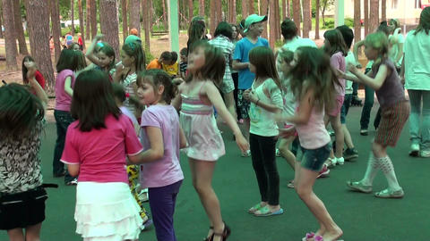 Children's disco Stock Video Footage