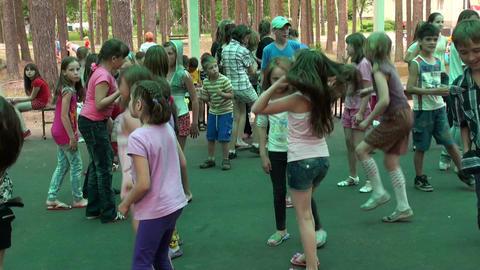 Children's disco Footage