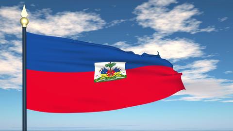 Flag Of Haiti Animation