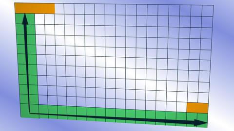 Diagram 3D Stock Video Footage