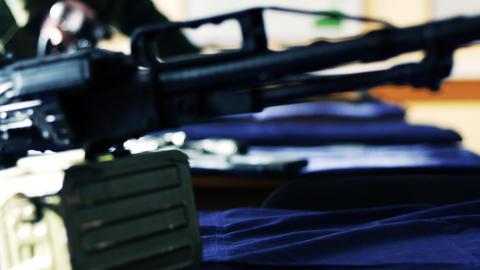 SWAT weapons Footage