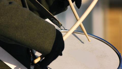 War drums loop Stock Video Footage
