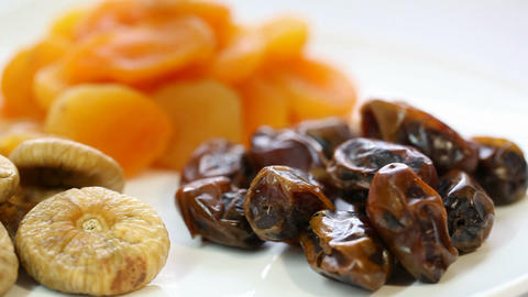 Dried Fruit stock footage