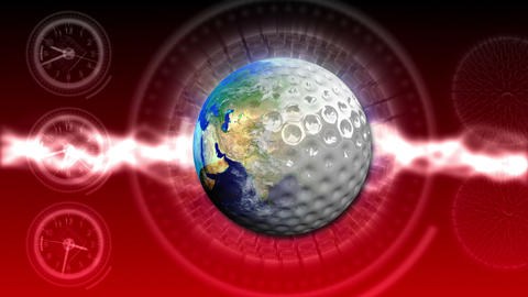 Golf World Background 47 (HD) Stock Video Footage